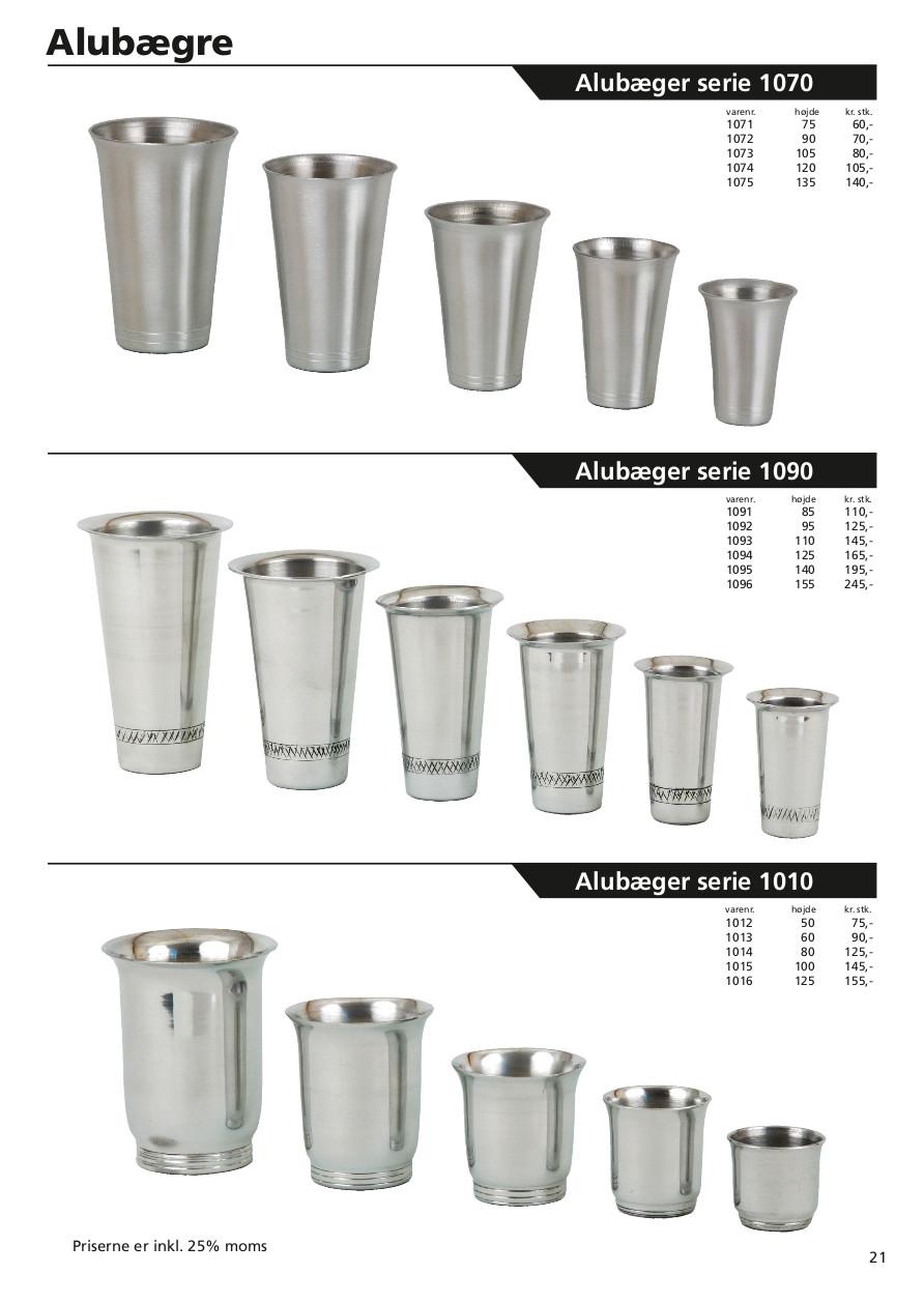 Side 21 af 40 - Aluminiums bæger serie 1070, 1090 & 1010