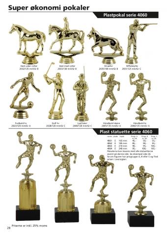 Side 28 af 40 - Bredt udvalg af sports statuetter